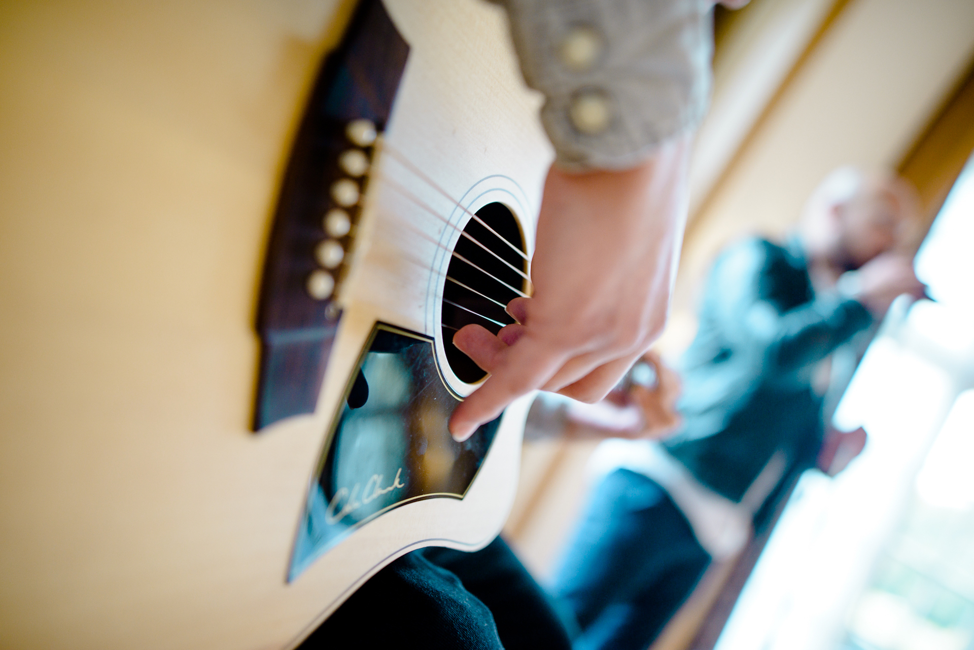 DJ Hertzklopfen Gitarre