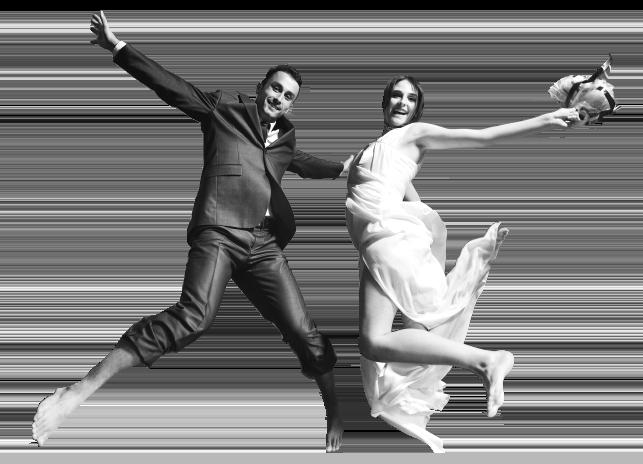 Hertzklopfen Hochzeitspaar